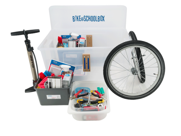 Fietsproject - Bike@SchoolBOX - Uitgeverij TESS